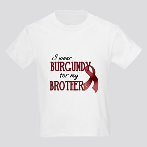 Wear Burgundy - Brother Kids Light T-Shirt