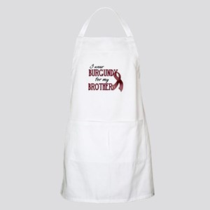 Wear Burgundy - Brother Apron