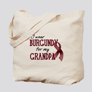 Wear Burgundy - Grandpa Tote Bag
