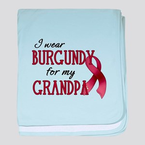 Wear Burgundy - Grandpa Infant Blanket