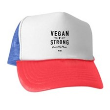Vegan Strong: Powered By Plants Trucker Hat