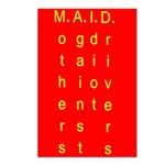 MAID..... Postcards (Package of 8)