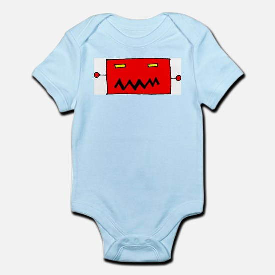 Big Robot Head Infant Creeper