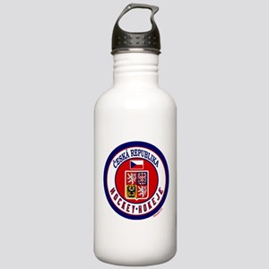 CZ Czech Rep Ice Hockey Stainless Water Bottle 1.0