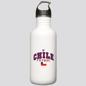 CL Chile Futbol Soccer Stainless Water Bottle 1.0L