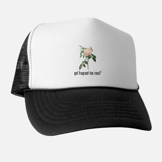 Fragrant Tea Rose Trucker Hat