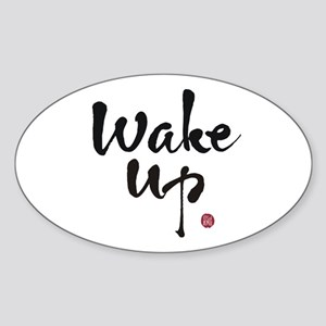 wakeup_1 Sticker