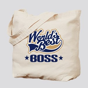 Worlds Best Boss Tote Bag
