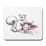 Zombie Squirrel Mousepad