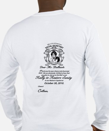 March to keep fear alive Long Sleeve T-Shirt