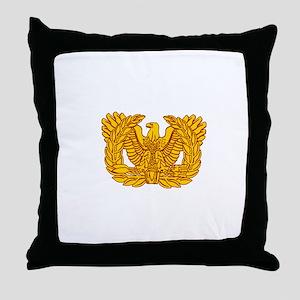 Warrant Officer Symbol Throw Pillow