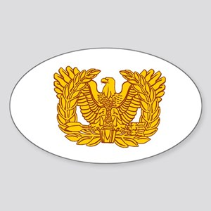 Warrant Officer Symbol Sticker (Oval 10 pk)
