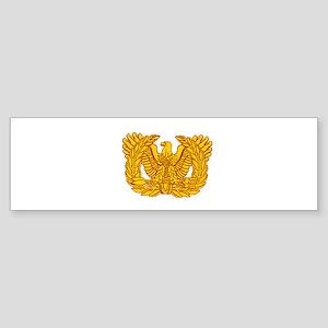 Warrant Officer Symbol Sticker (Bumper)
