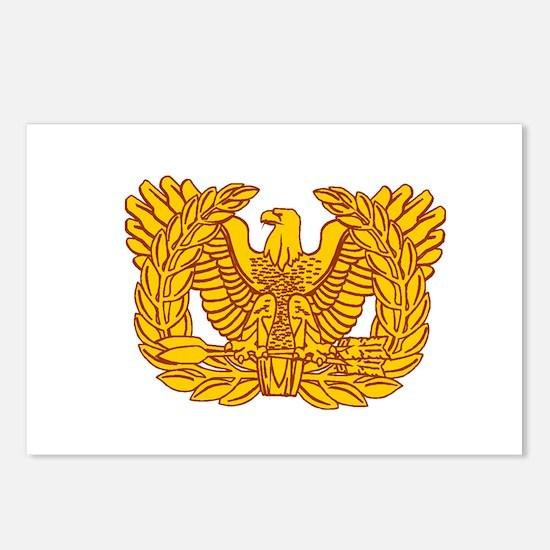 Warrant Officer Symbol Postcards (Package of 8)