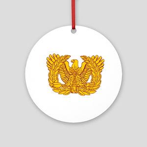 Warrant Officer Symbol Ornament (Round)