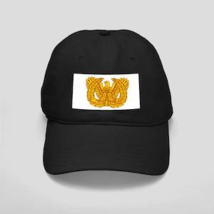 Warrant Officer Symbol Black Cap