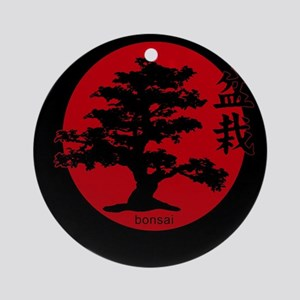 Bonsai Round Ornament