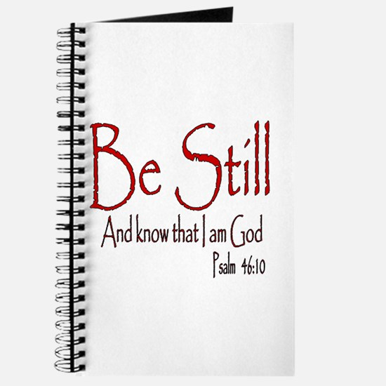 Be Still (2) Journal