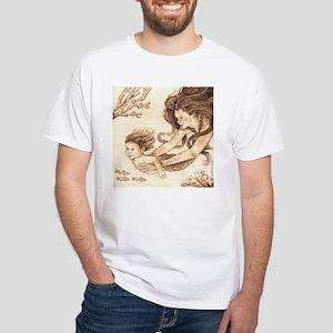 Mer-baby White T-Shirt