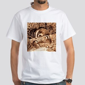 Badgers White T-Shirt