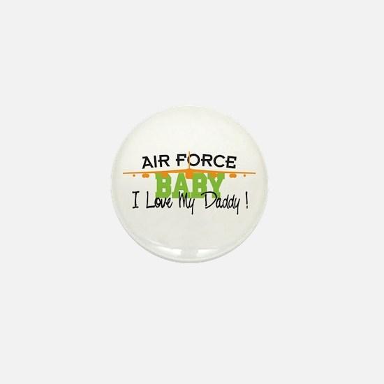Air Force Baby Mini Button