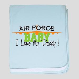 Air Force Baby baby blanket