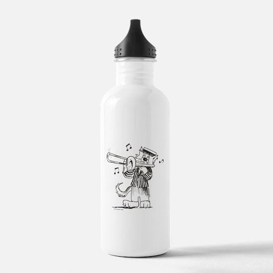 Catoons™ Trombone Cat Water Bottle