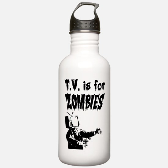 TV is for ZOMBIES Water Bottle