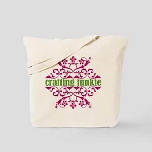 Crafting Junkie Tote Bag