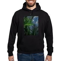 Sago Palm Fronds Hoodie (dark)