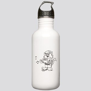 Trumpet Cat Stainless Water Bottle 1.0L