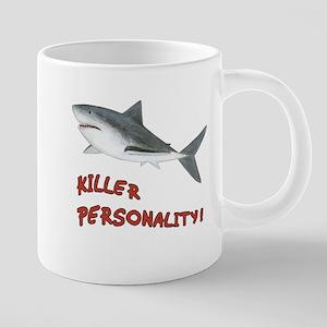 Killer Personality - Shark 20 Oz Ceramic Mega Mug