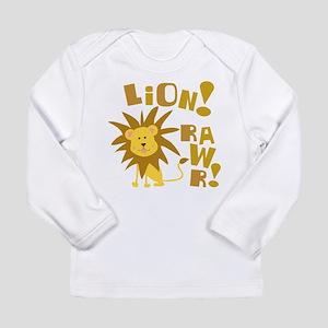 Lion Rawr Long Sleeve Infant T-Shirt