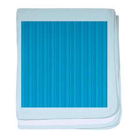 Blue Stripes Infant Blanket