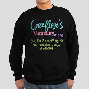 Crafter's Mentality #374 Sweatshirt (dark)