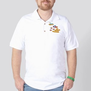 School of Fish Golf Shirt