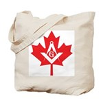 Masonic Canadian Tote Bag