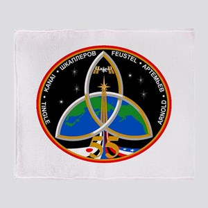 Expedition 55 Logo Throw Blanket