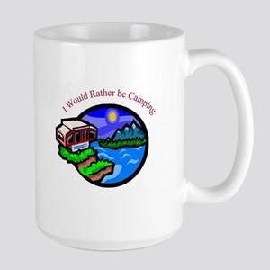 Rather be Camping Coffee Mug