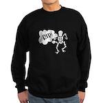 RIP Skeleton Sweatshirt (dark)