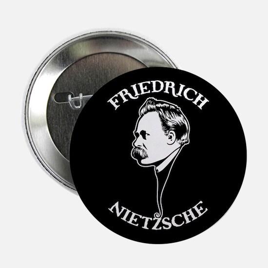"Friedrich Nietzsche -SV 2.25"" Button"