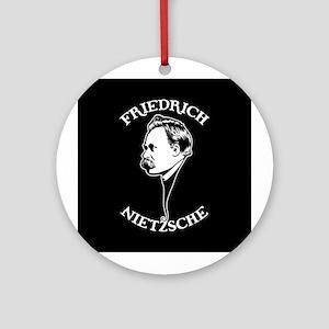 Friedrich Nietzsche -SV Ornament (Round)