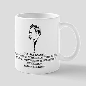 Nietzsche -Art II Mug