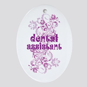 Dental Assistant Ornament (Oval)