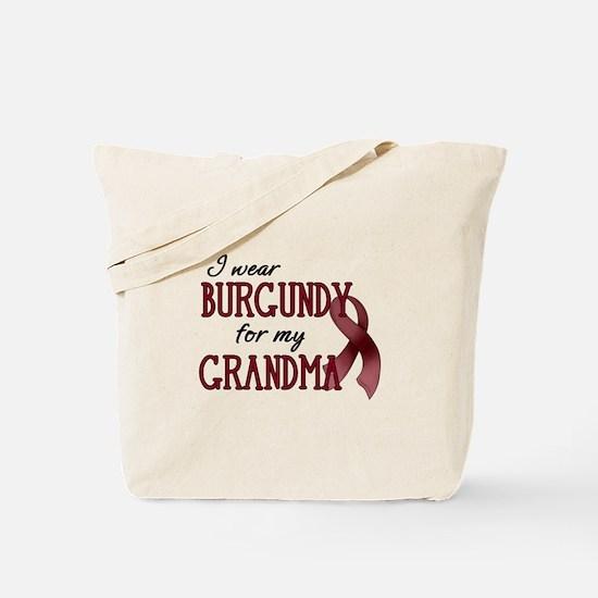 Wear Burgundy - Grandma Tote Bag