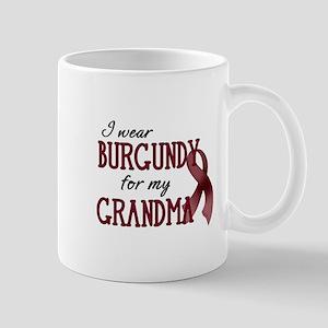Wear Burgundy - Grandma Mug