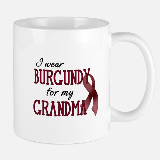 Wear Burgundy - Grandma Mug