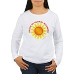 Speed Up Global Warming Women's Long Sleeve T-Shir