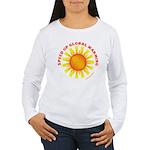 Speed Up Global Warming Women's Long Sleeve T-Shir