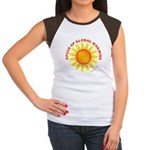 Speed Up Global Warming Women's Cap Sleeve T-Shirt